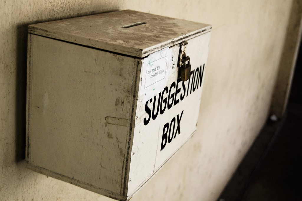 5 Reasons Company Suggestion Boxes Fail And What To Do Instead Rever